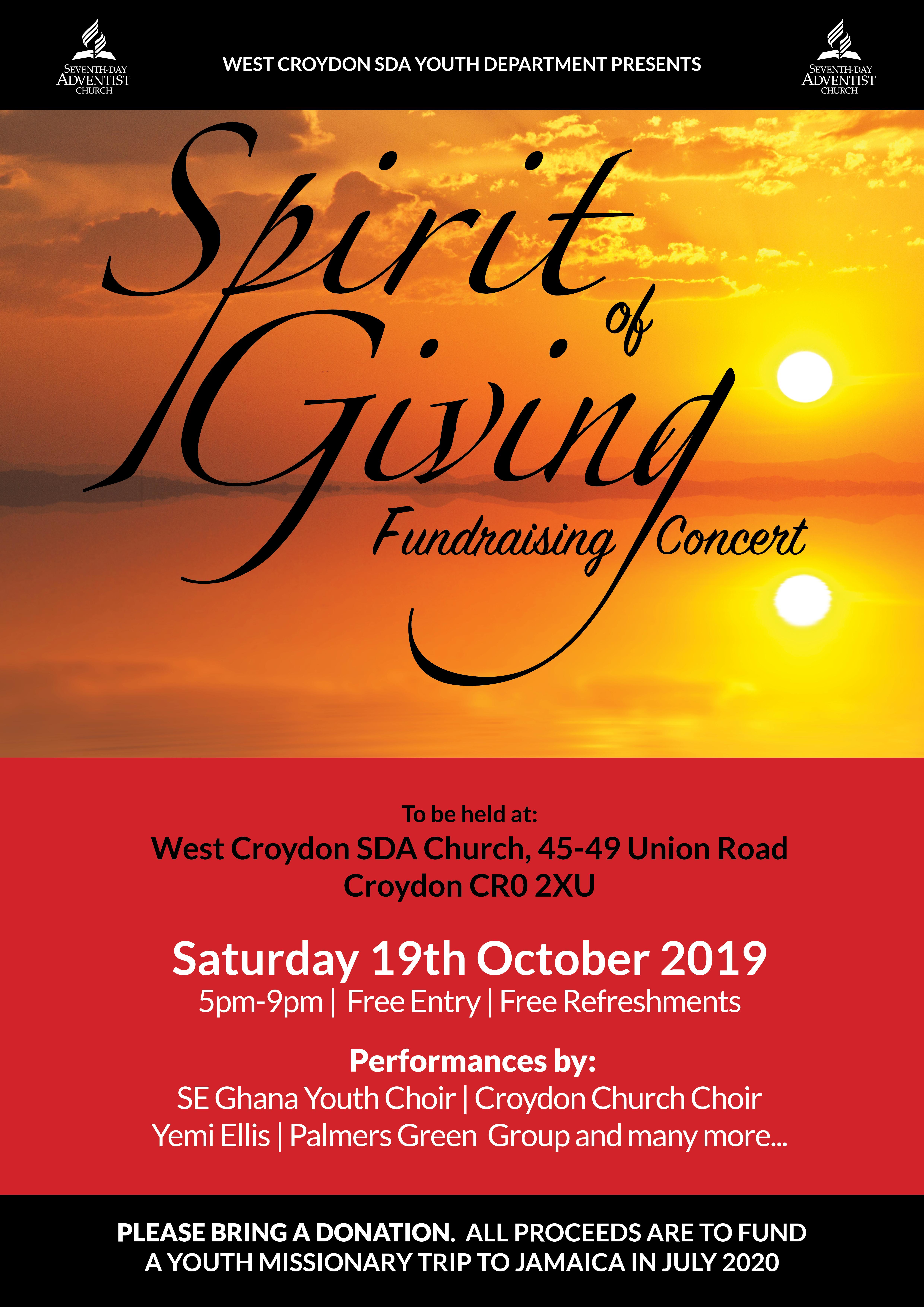 West croydon concert